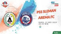 Liga 1 2019: PSS Sleman vs Arema FC. (Bola.com/Dody Iryawan)