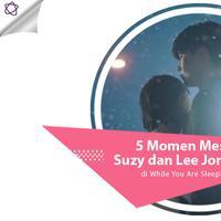 5 Momen Mesra Suzy dan Lee Jong Suk di While You were Sleeping (Foto: SBS, DI: Nurman Abdul Hakim/Bintang.com)