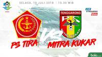 Jadwal Liga 1 2018 pekan ke-15, PS Tira Vs Mitra Kukar. (Bola.com/Dody Iryawan)