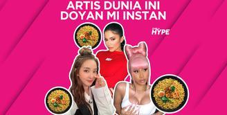 Kylie Jenner, Cardi B dan Artis Korea Ini Doyan Makan Mi Instan Indonesia