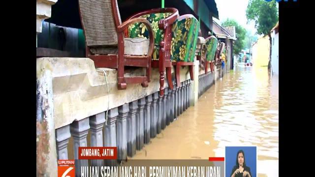 Hingga Senin pagi, ketinggian banjir yang bervariasi mencapai setengah hingga 1 meter. Kondisi ini mengakibatkan aktivitas warga terganggu.
