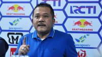 Agoes Soerjanto, CEO Arema FC, beri jawaban soal tudingan timnya mengatur pertandingan. (Bola.com/Iwan Setiawan)