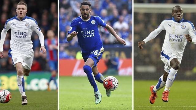 Leicester City mendominasi nomine PFA Players of the Year musim 2015-2016. Dari enam nama yang akan bersaing memperebutkan penghargaan tersebut, tiga diantaranya adalah pemain Leicester.