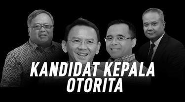 Presiden Joko Widodo atau Jokowi menyiapkan empat kandidat Kepala Otorita Ibu Kota Baru. Mulai dari Bambang Brodjonegoro hingga Basuki Tjahja Purnama atau Ahok. Berikut profil singkat keempat kandidat tersebut.