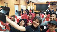 Kegiatan EGTC 2019 di Universitas Negeri Surabaya pada Rabu, 6 November 2019 (Foto: Liputan6.com/Dian Kurniawan)
