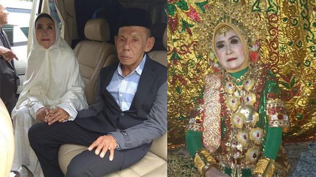 Pasangan Renta Lepas Masa Lajang Menikah di Umur 63 Tahun
