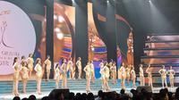 Malam final pemilihan Miss Grand Indonesia 2018 (Foto: Liputan6.com/ Vinsensia D)