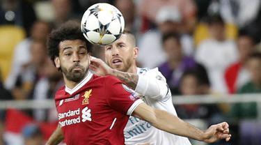 Real Madrid, Liverpool, Liga Champions, Mohamed Salah