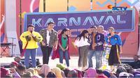 Karnaval SCTV di Alun-Alun Ciamis, Jawa Barat, Minggu (29/6/2019)
