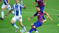 Laga Barcelona vs Espanyol (LLUIS GENE/AFP)