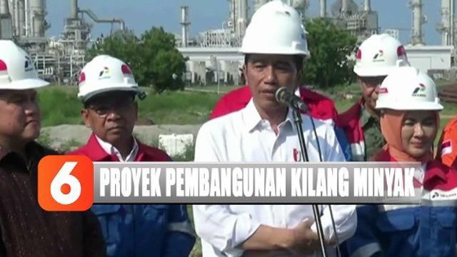 Jika kilang ini sudah produksi secara maksimal, menurut Jokowi bisa menghemat devisa negara sekitar 4,9 miliar USD atau 56 triliun.