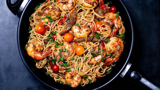 Image Resep Pasta Spaghetti Saus Marinara