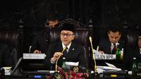 Majelis Permusyawaratan Rakyat (MPR) menggelar Sidang Paripurna Akhir Masa Jabatan periode 2014-2019 di Ruang Rapat Paripurna I Gedung Nusantara MPR/DPR/DPD RI, Jumat (27/9/2019).
