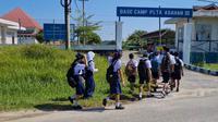 Program PLN Peduli Pendidikan. Salah satu penyalurannya adalah ke tiga SMP di wilayah PLTA Asahan 3. (dok: PLN)