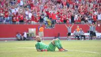 Penjaga gawang Pepe Reina memutuskan untuk meninggalkan AC Milan untuk bergabung dengan Aston Villa (Joseph Prezioso / AFP)