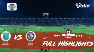 Berita Video Highlights Shopee Liga 1 2019, Persela Kalahkan Arema Malang 2-0