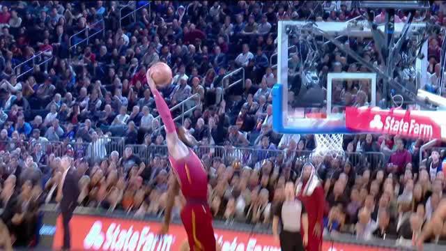 Berita video game recap NBA 2017-2018 antara Cleveland Cavaliers melawan New York Knicks dengan skor 123-109.