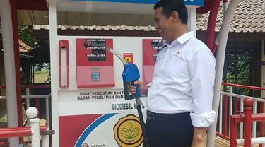 Bahan bakar B100 hasil produksi Kementerian Pertanian. Dok Kementan