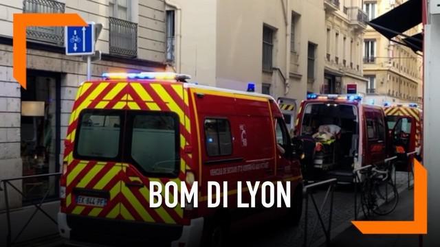 Setidaknya tiga belas orang terluka setelah ledakan terjadi di Lyon, Prancis pada 24 Mei.
