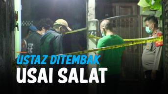 Dua Pria Mencurigakan Terlihat sebelum Penembakan Ustaz di Tangerang