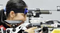 atu-satunya petembak Indonesia yang tampil di Olimpiade Tokyo 2020, Vidya Rafika Rahmatan Thayiba (Istimewa).