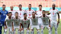 Pelatih Timnas Indonesia U-23, Luis Milla, mempertingatkan pemainnya akan kekuatan Palestina U-23 yang dikenal memiliki kualitas fisik tangguh. (INASGOC/sup)