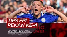 Berita video tips FPL 2019 pekan ke-4 soal andalan yang bisa dipakai selain Teemu Pukki, Raheem Sterling, dan Mohamed Salah di tim fantasy kalian.