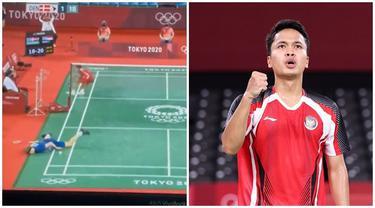 Melaju ke Semifinal, Ini 6 Momen Detik-detik Anthony Ginting Cetak Poin Terakhir