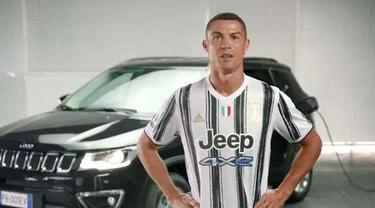 Jersey baru Juventus (HindustanTimes)