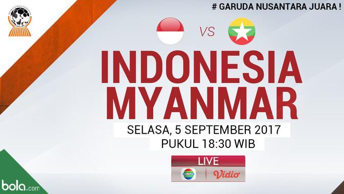 Live Streaming Timnas Indonesia U19 Vs Myanmar  Indonesia Bola.com