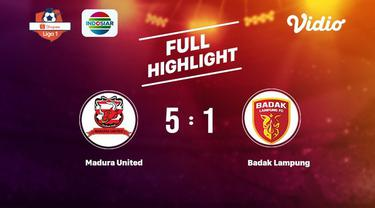 Laga lanjutan Shopee Liga 1,Madura United vs Badak Lampung skor 5-1 #shopeeliga1 #Madura United #Badak Lampung