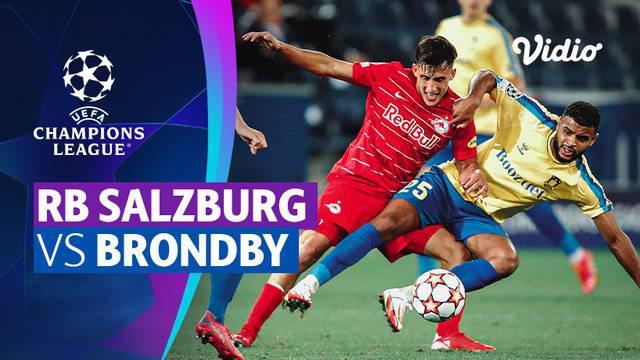 Berita video laga seru babak playoffs Liga Champions 2021/2022 antara RB Salzburg melawan Brondby yang berakhir dengan skor 2-1, Rabu (18/8/2021) dinihari WIB.