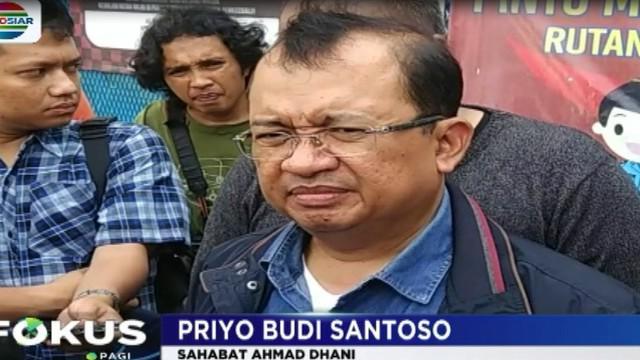 Prio menyatakan keheranannya dengan perlakuan terhadap Ahmad Dhani.