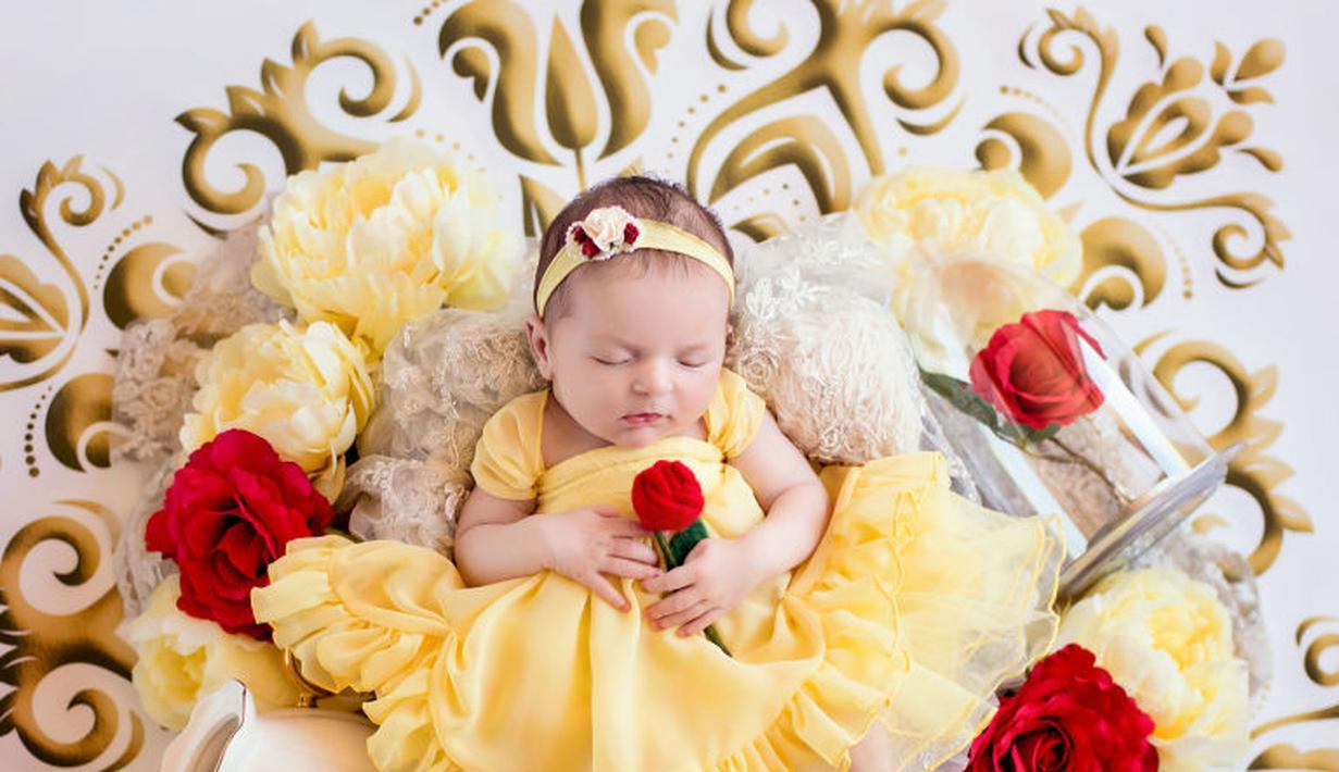 Ide Photoshoot Bayi Bertema Disney Ini Bagai di Negeri ...