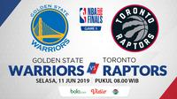 NBA Finals 2019 - Golden State Warriors Vs Toronto Raptors (Bola.com/Adreanus Titus)