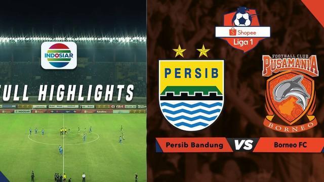 Berita video highlights Shopee Liga 1 2019 antara Persib Bandung melawan Borneo FC yang berakhir dengan skor 2-2, Rabu (14/8/2019).
