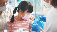 Vaksinasi Covid-19 untuk anak. foto.Klikdokter (Arfandi Ibrahim/Liputan6.com)
