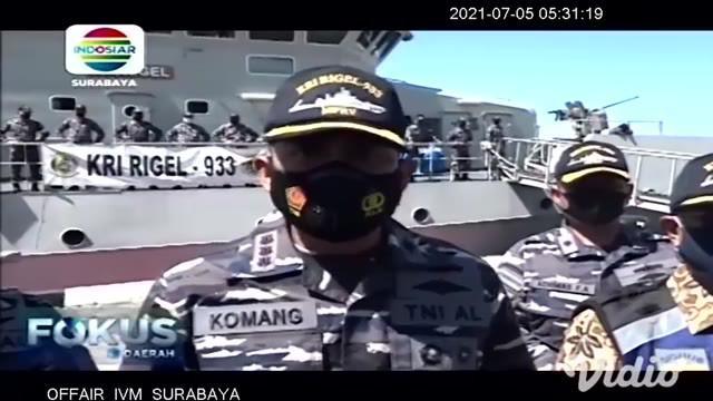 Hasil pemantauan KRI Rigel 933, bangkai KMP Yunicee masih dalam posisi yang sama saat tenggelam di Selat Bali. Posisi kapal tidak terbalik di kedalaman 78 meter, dengan jarak 1,65 kilometer dari Pelabuhan Gilimanuk, Bali.