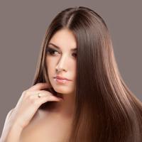 Ilustrasi rambut lurus. (Sumber: purewow.com)