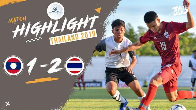 Berita video highlight Piala AFF U-15 2019 di mana Thailand menang 2-1 atas Laos, Minggu (28/7/2019).