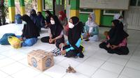 151 siswa di Purbalingga positif Covid-19 dan menjalani isolasi terpusat. (Foto: Liputan6.com/RudalAfgani Dirgantara)