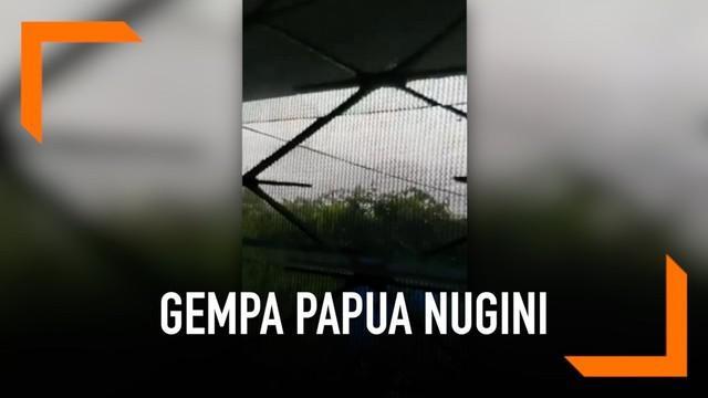 Senin (7/5) pagi kawasan Papua Nugini diguncang gempa magnitudo 7,2. Hingga kini belum ada laporan resmi mengenai kerusakan akibat gempa.