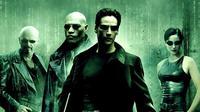 Keanu Reeves di film The Matrix (1999).