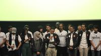 Milenial Bandung menyatakan dukungan ke Jokowi-Ma'ruf Amin.