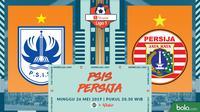 Shopee Liga 1 - PSIS Semarang Vs Persija Jakarta (Bola.com/Adreanus Titus)