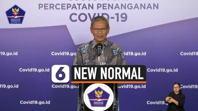 VIDEO: Jubir Gugus Tugas Covid-19 Sebut New Normal bukan Euforia