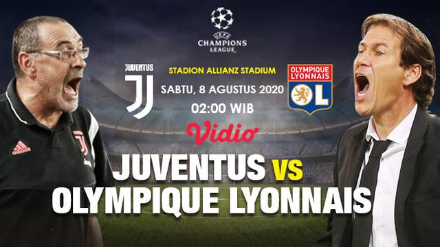 Link Live Streaming Liga Champions Juventus Vs Lyon Di Vidio Nanti Malam Bola Liputan6 Com