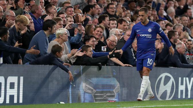 Eden Hazard Kembali Buat Chelsea Bergejolak - Inggris Bola.com