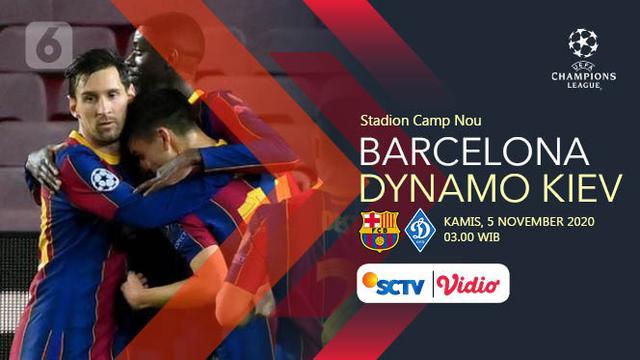 saksikan live streaming liga champions barcelona vs dynamo kiev di sctv bola liputan6 com barcelona vs dynamo kiev di sctv