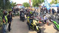 Ribuan Pengguna Yamaha Maxi Berkumpul di Tebing Tinggi (YIMM)